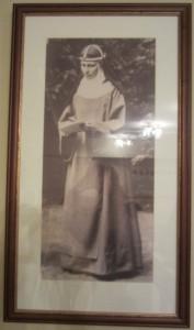 Fotografi på syster Maria Elisabeth Hesselblad